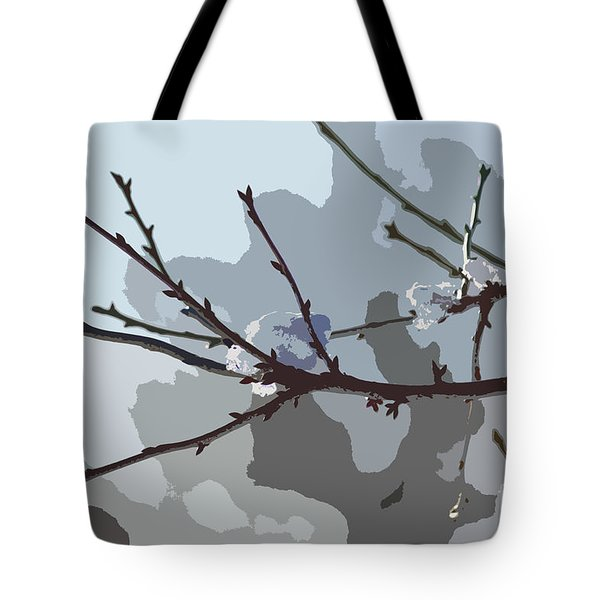 Little Snowball Tote Bag by Carol Lynch