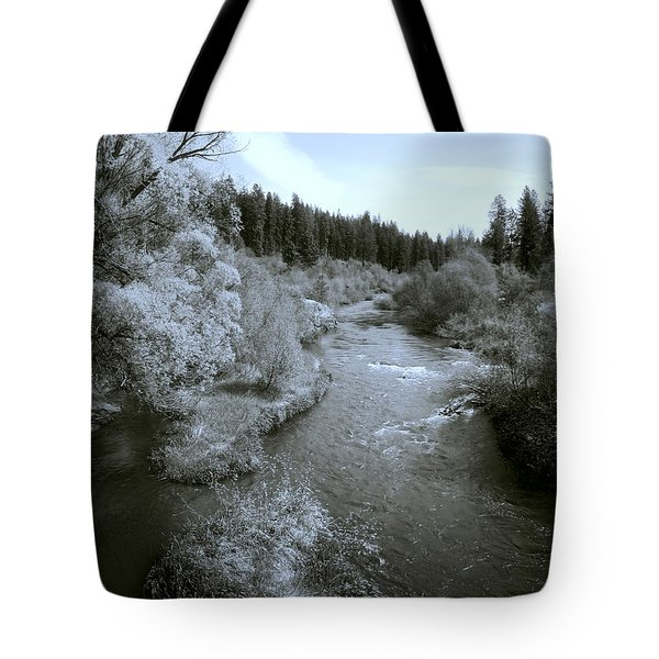 Little Spokane River Beauty Tote Bag by Daniel Hagerman
