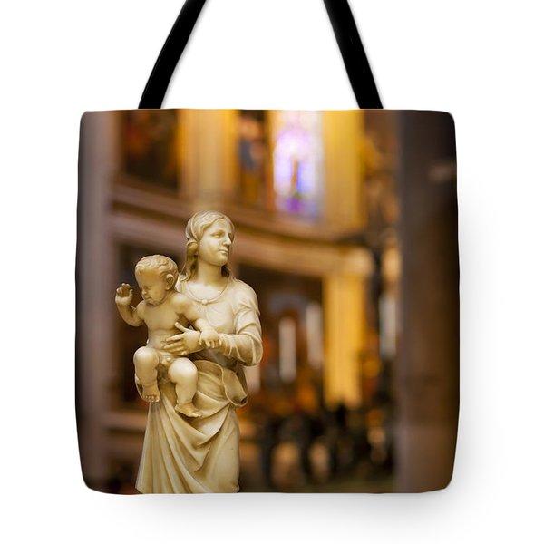 Little Statue Tote Bag by Brian Jannsen