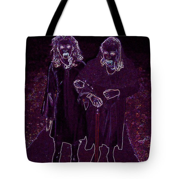 Little Vampires Tote Bag by First Star Art