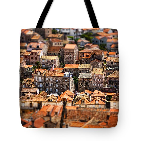 Little Village Tote Bag by Andrew Paranavitana