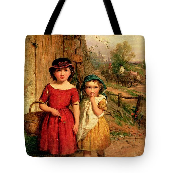 Little Villagers Tote Bag by George Smith