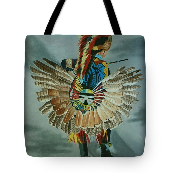 Little Warrior Tote Bag