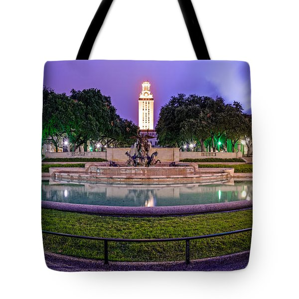 Littlefield Fountain At The University Of Texas In Austin Atx 512 Tote Bag