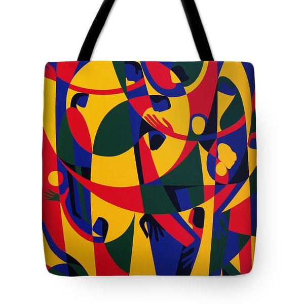 Live Adventurously Tote Bag by Ron Waddams