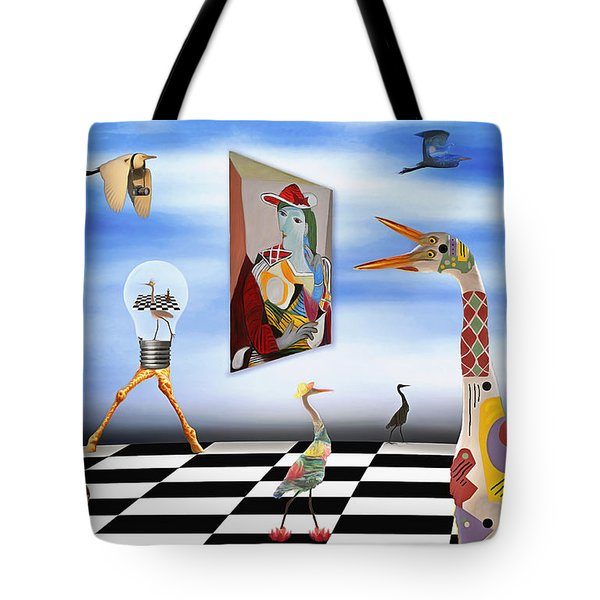 Live Your Art Tote Bag by Nola Lee Kelsey