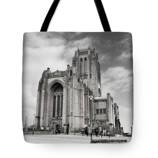 Liverpool Anglican Cathedral Tote Bag by David French