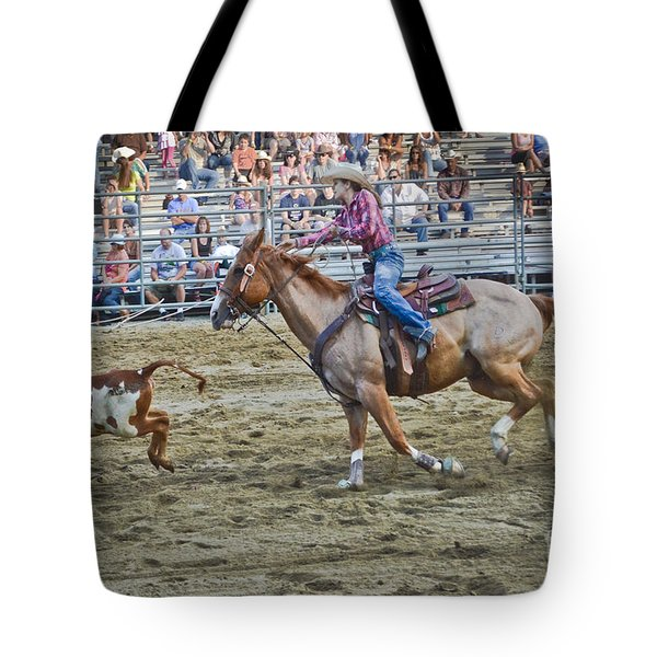 Livestock Cowgirl Tote Bag