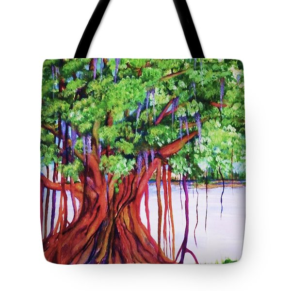 Living Banyan Tree Tote Bag
