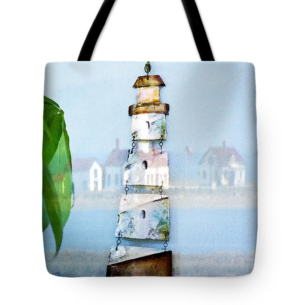 Living By The Sea - Pacific Ocean Tote Bag