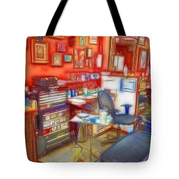 Living Canvas Tote Bag by Cindy Nunn