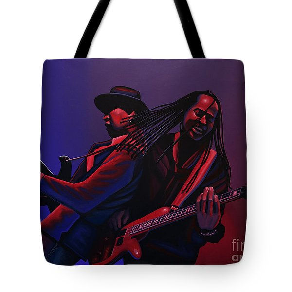 Living Colour Painting Tote Bag