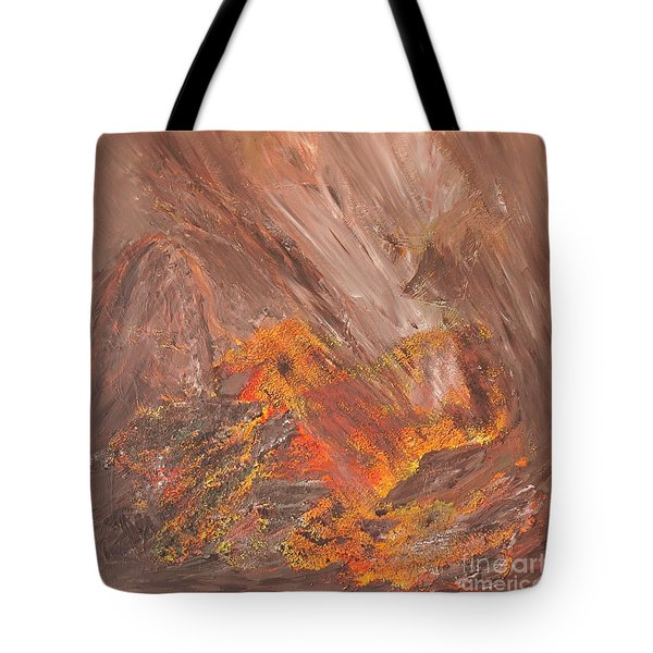 Living Earth-kneeling Buddha Tote Bag by Susan  Dimitrakopoulos