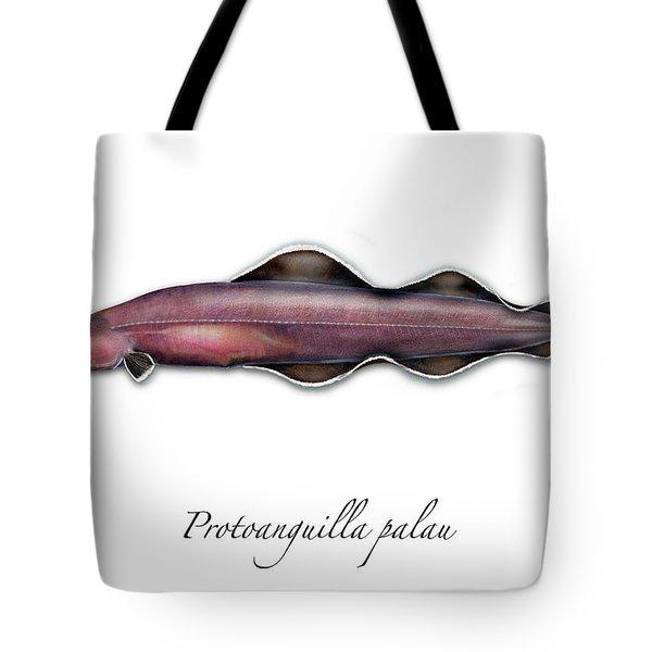 Living Fossil Eel - Protoanguilla Palau Tote Bag