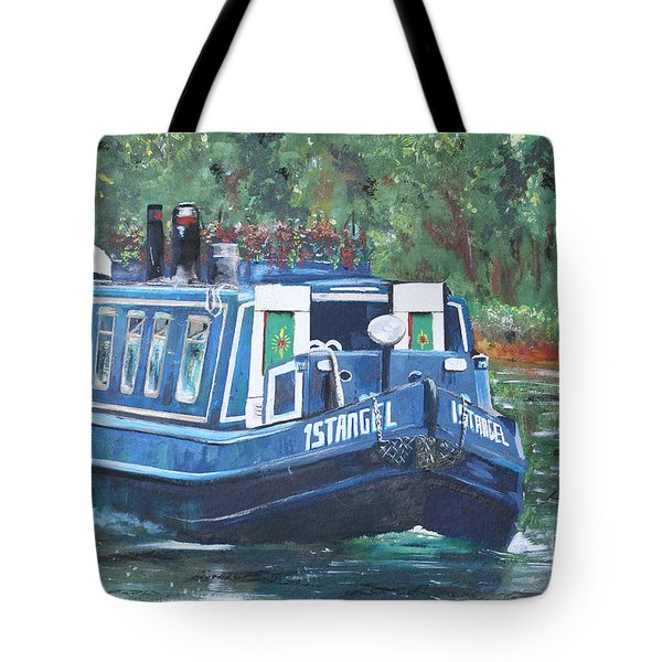 Living On The River Tote Bag