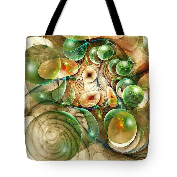 Living Organisms Tote Bag by Anastasiya Malakhova
