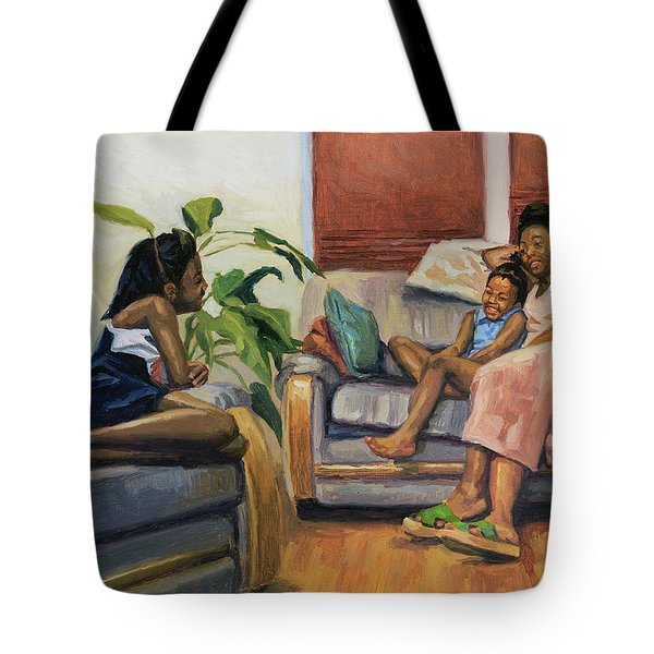 Living Room Lounge Tote Bag