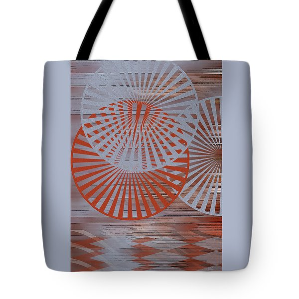 Living Spaces No 2 Tote Bag by Ben and Raisa Gertsberg