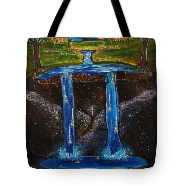 Living Water Tote Bag by Cassie Sears