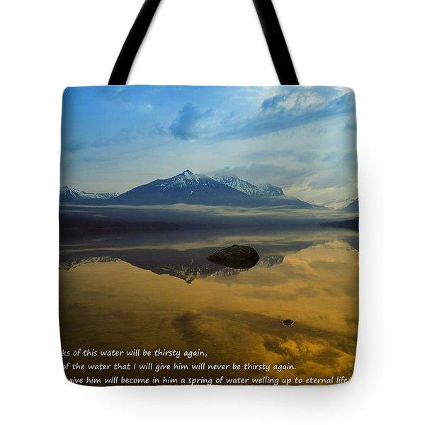 Living Water Tote Bag by Jeff Swan