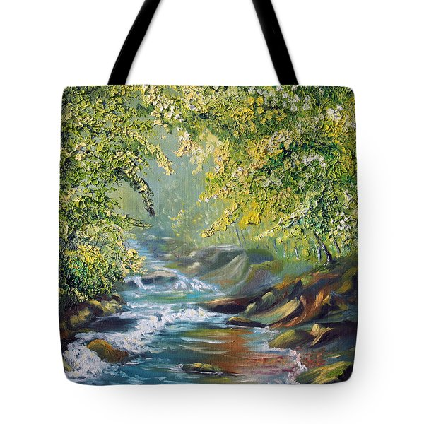 Living Water Tote Bag by Meaghan Troup