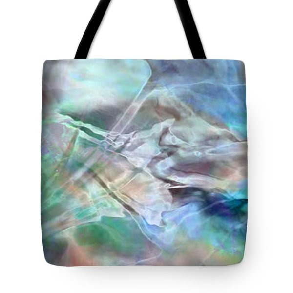 Living Waters - Abstract Art Tote Bag by Jaison Cianelli