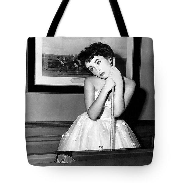 Liz Taylor Elizabeth Taylor Tote Bag by Studio Photograph