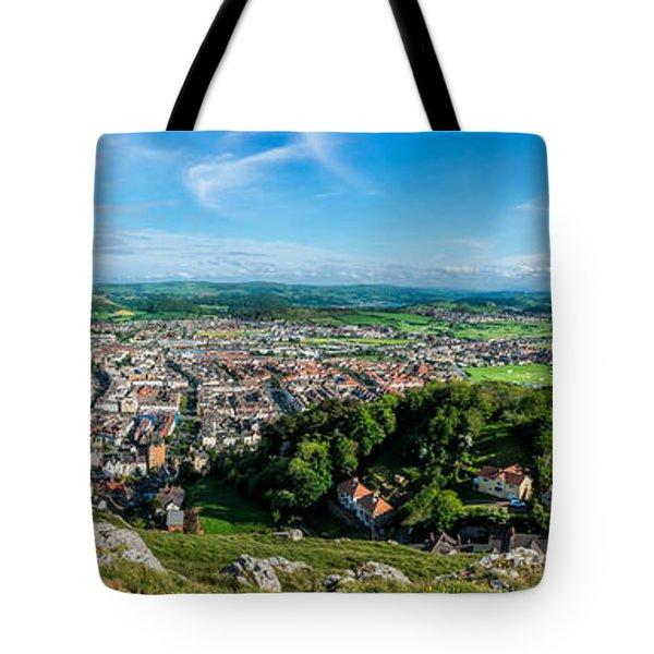 Llandudno Panorama Tote Bag