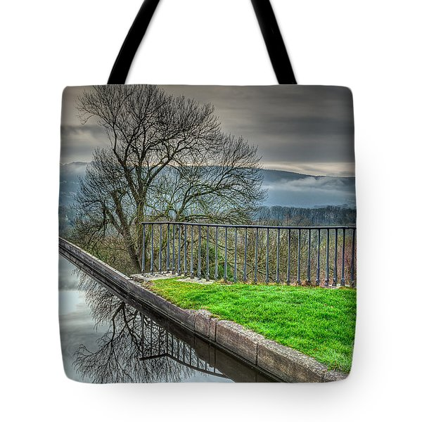 Llangollen Canal  Tote Bag by Adrian Evans
