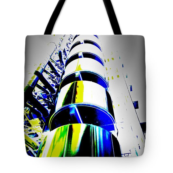 Lloyd's Building London Art Tote Bag