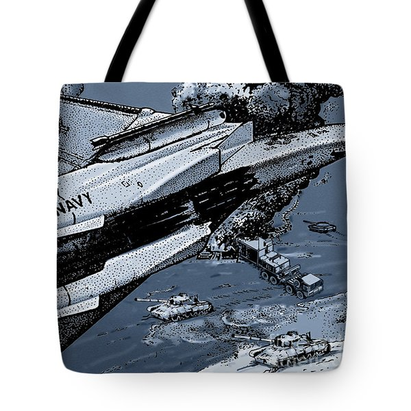 Loaded For Tank Tote Bag by Joseph Juvenal
