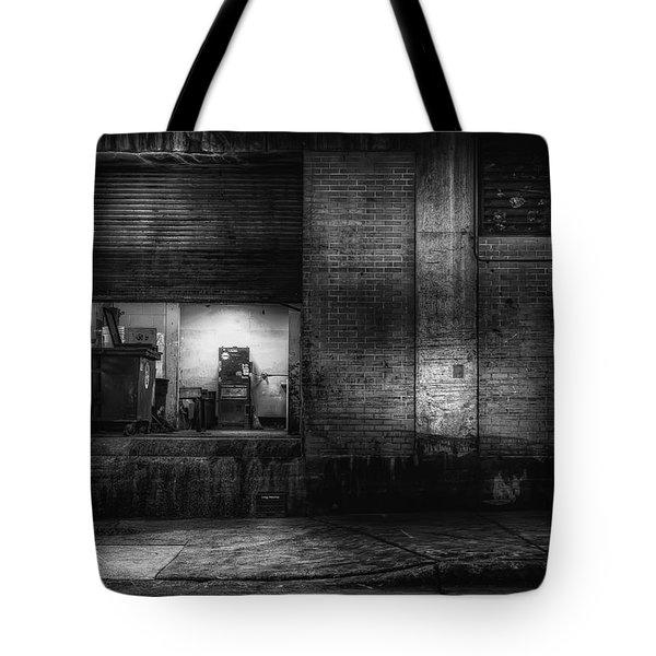 Loading Dock Tote Bag