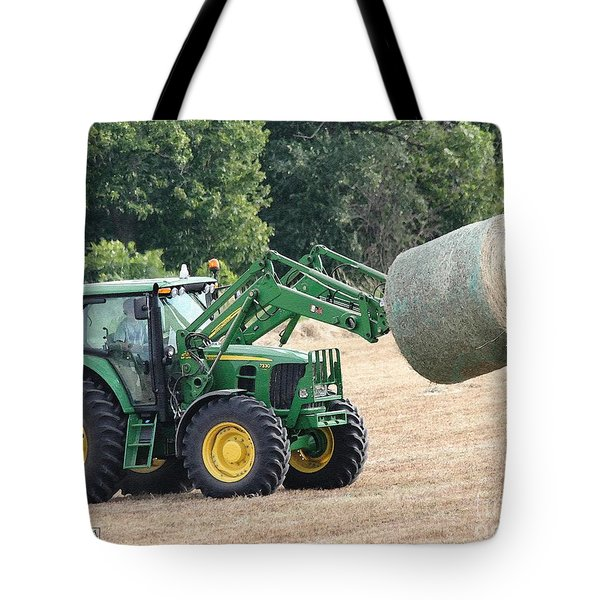 Loading Hay Tote Bag