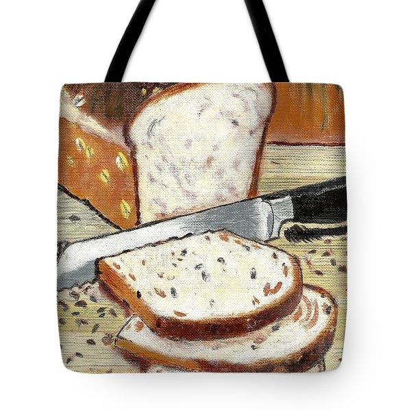 Loaf Of Bread Tote Bag by Francine Heykoop