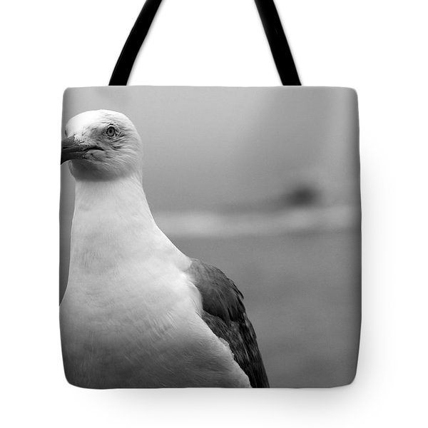 Lobster Boat Gull Tote Bag