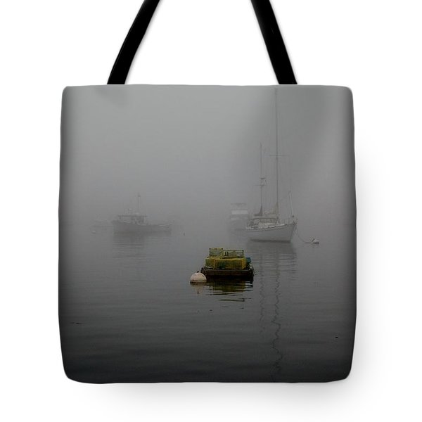 Lobster Pots Tote Bag