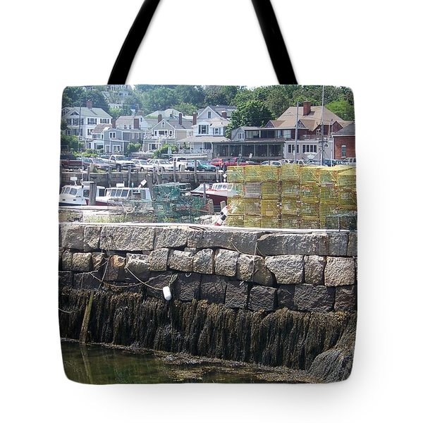 Tote Bag featuring the photograph New England Lobster by Eunice Miller