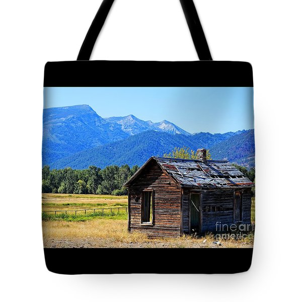 Tote Bag featuring the photograph Location Location Location Montana by Joseph J Stevens