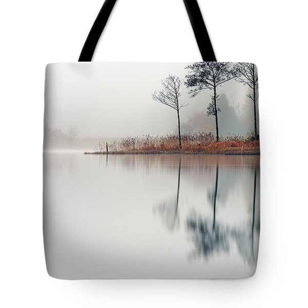 Loch Ard Reflections Tote Bag
