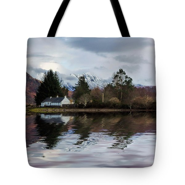 Loch Etive Reflections Tote Bag