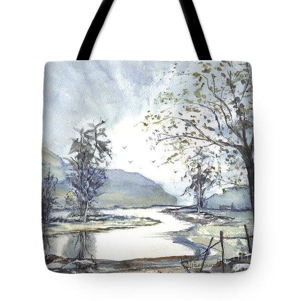 Loch Goil Scotland Tote Bag by Carol Wisniewski