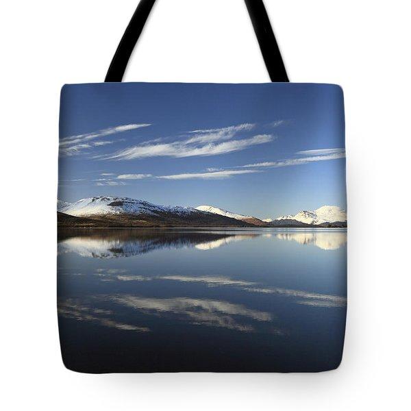 Loch Lomond Reflection Tote Bag