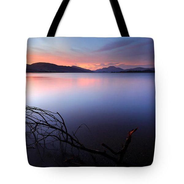 Loch Lomond Sunset Tote Bag