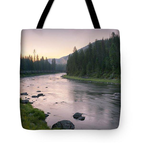 Lochsa Dawn Tote Bag
