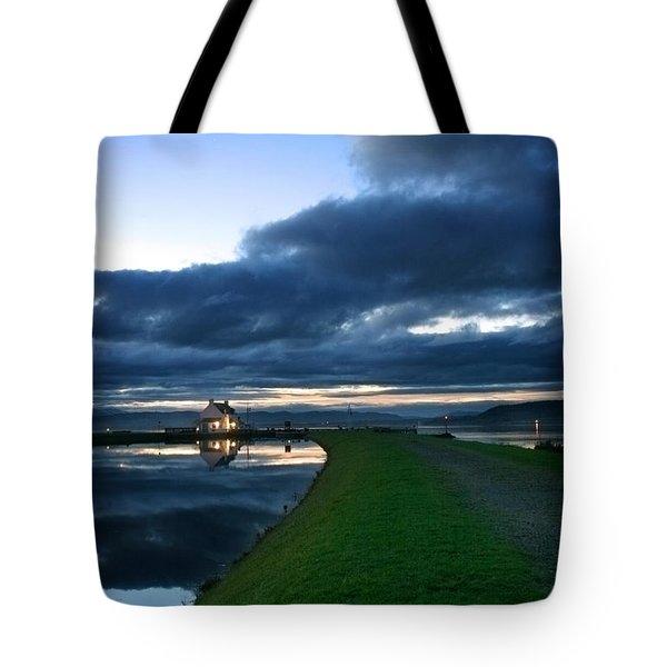 Lock House Tote Bag