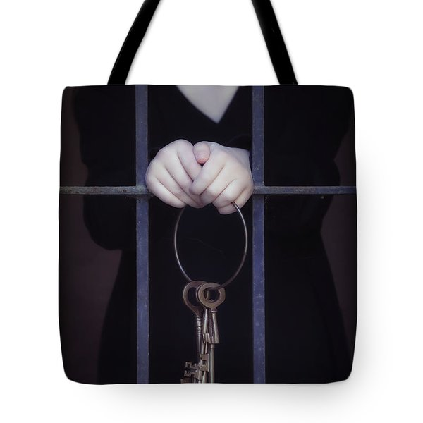 Locked-in Tote Bag by Joana Kruse