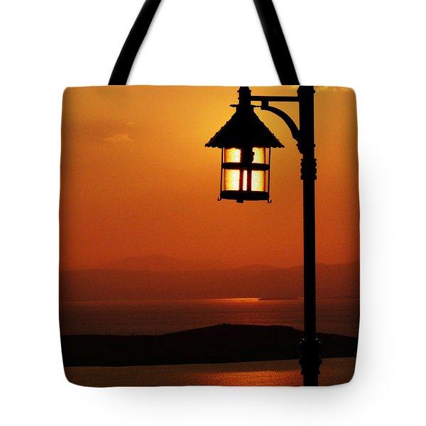 Locked Sun Tote Bag