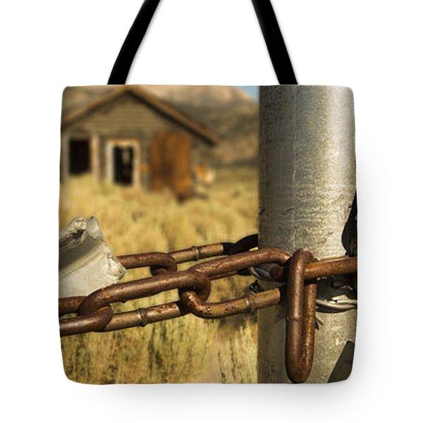 Locked Up Tote Bag