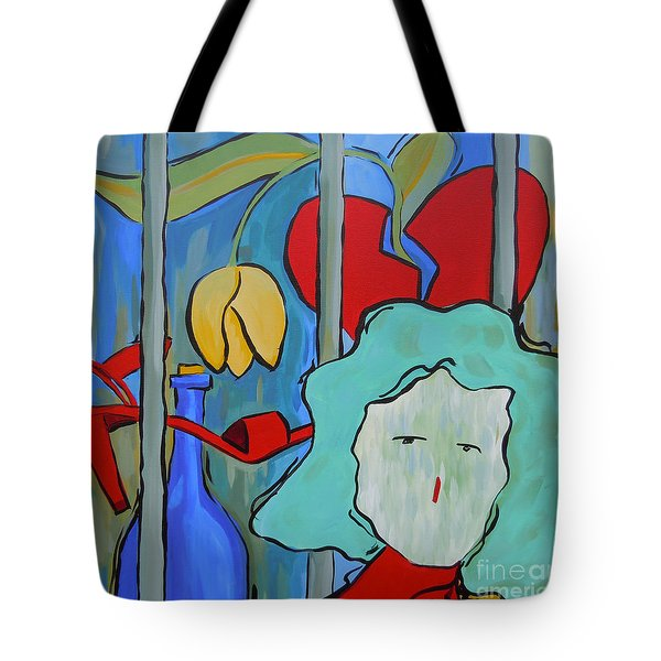 Locked Up Tote Bag