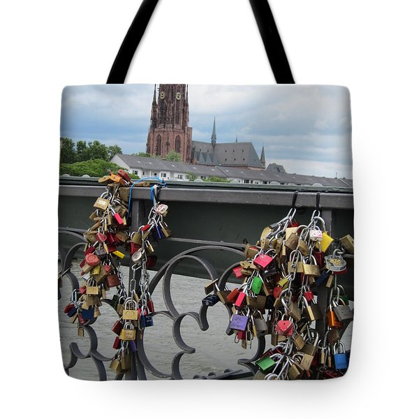 Locks Of Love 2 Tote Bag by Pema Hou